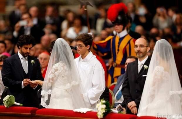 свадьба в ватикане