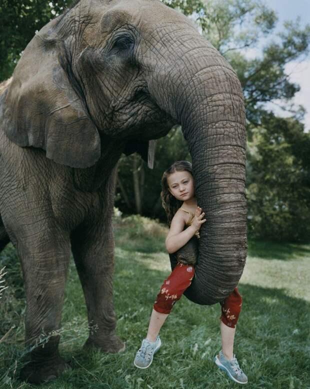 Мир Амелии— девочка иееживотные