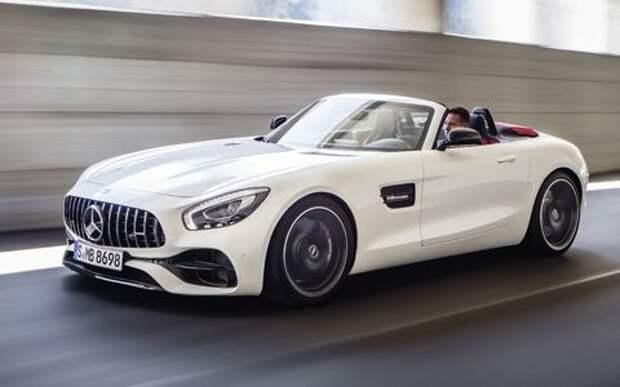 Mercedes-AMG GT Roadster: витамин С