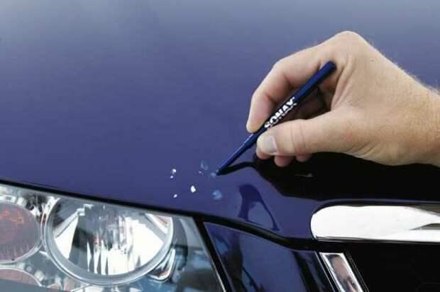 Советы по использованию краски для ретуши автомобиля