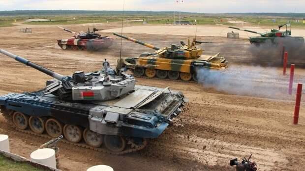 Западные СМИ указали на скрытые цели танкового биатлона РФ