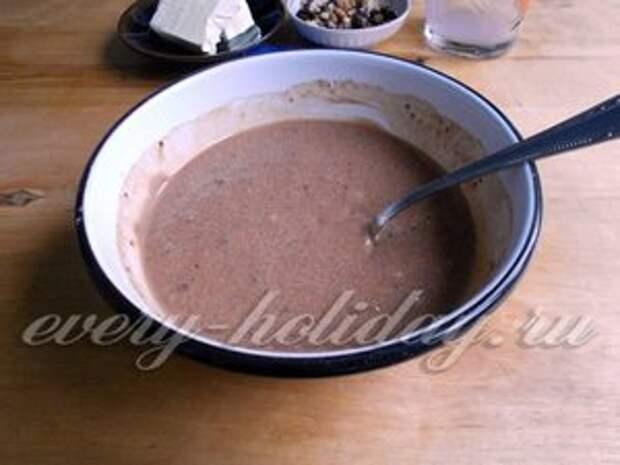 варить шоколадную смесь 5 минут