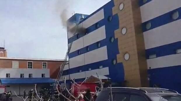 Стало известно количество пострадавших от пожара в ТЦ «Персей для детей» (ВИДЕО)