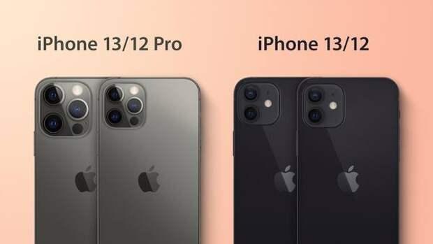 Новые камеры сделали iPhone 13 заметно толще iPhone 12