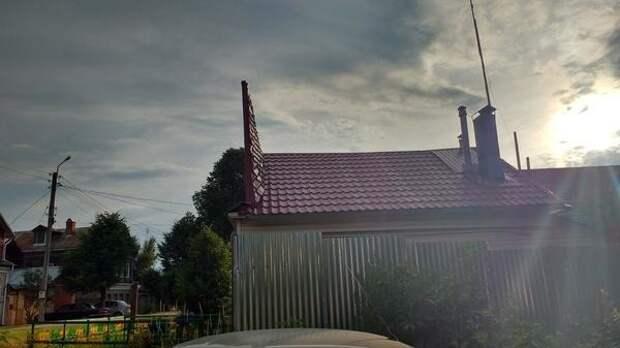 На крыше дома... Упоротая подборка о кровле