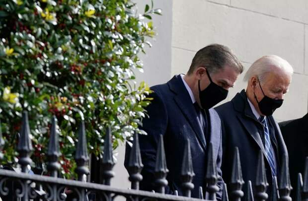 Политика США зарабатывает на дозу сыну президента Байдена