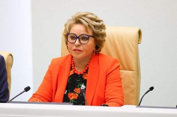Матвиенко надеется на восстановление диалога с британским парламентом