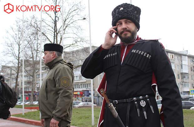 Председатель рабочей группы по делам казачества при Главе Республики Крым Антон Сироткин.