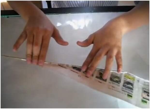 Как сделать салфетницы из бумаги или газет.