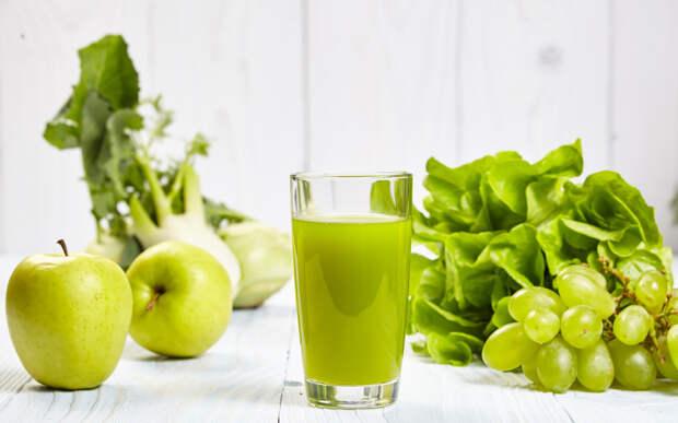 Свежие соки из овощей и фруктов