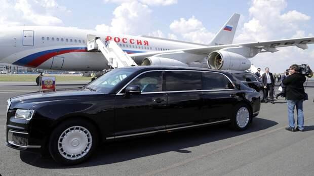 В Сети сравнили бронелимузины Путина и Байдена