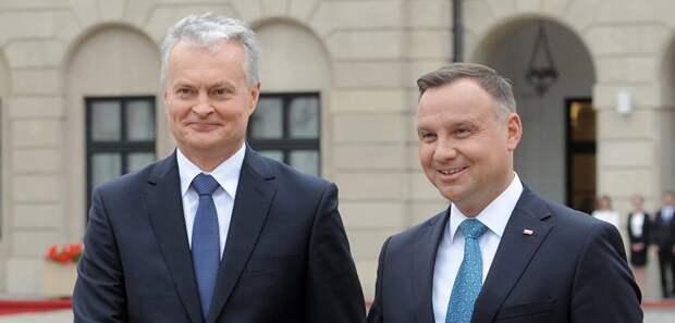 Голос Мордора: Польша и Литва уже готовы придушить Белоруссию в своих горячих дружеских объятиях