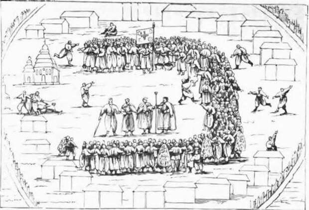 Донские казаки и запорожцы