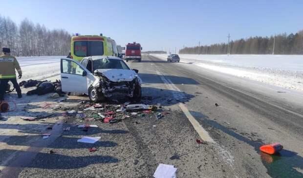 ВТатарстане авария натрассе унесла жизни четырех человек