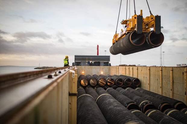 В США заявили о продолжении введения санкций против «Северного потока — 2»