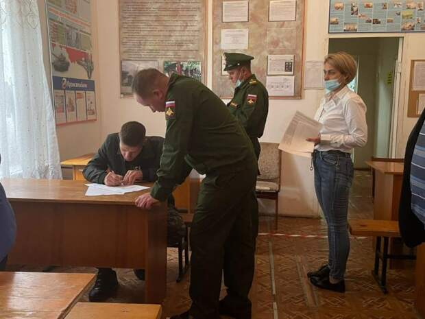 В Адыгее первые 28 добровольцев из Гиагинского и Кошехабльского районов подписали контракты для вступления в мобилизационный резерв