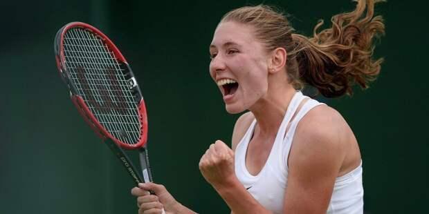 Теннисистка Александрова заняла 25-е место в рейтинге WTA