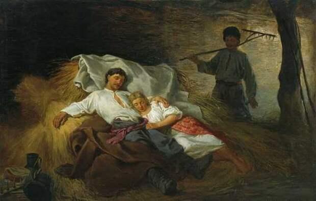 О занятиях любовью на Руси: как наши предки любовным утехам предавались