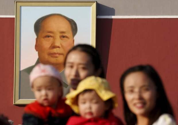 В Китае могут отменить ограничение на количество детей в семье