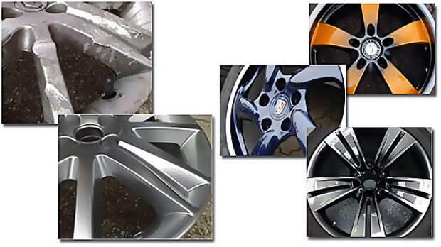 Виды литых дисков