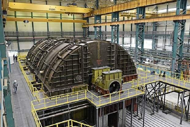 В России изготовлена первая тихоходная турбина большой мощности для новых АЭС