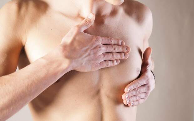 17. Каждый год 450 мужчин умирает от рака груди. мужчины, факты