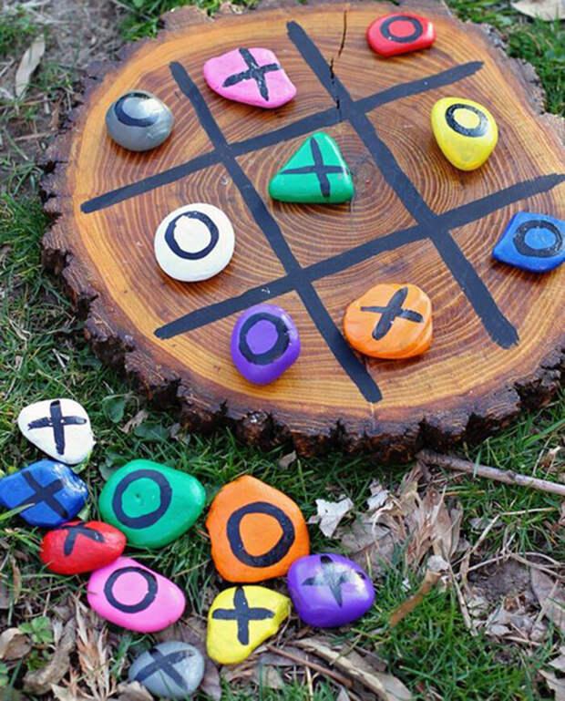 13 игр для детей и взрослых (галька и камешки)