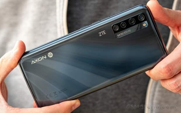 Смартфон ZTE Axon 30 получит 200-мегапиксельную камеру
