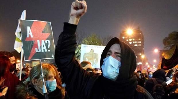 Идеологические протесты в США и Польше, а далее — везде. Ростислав Ищенко