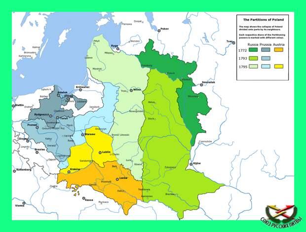Русское государство - Великое Княжество Литовское (ВКЛ)