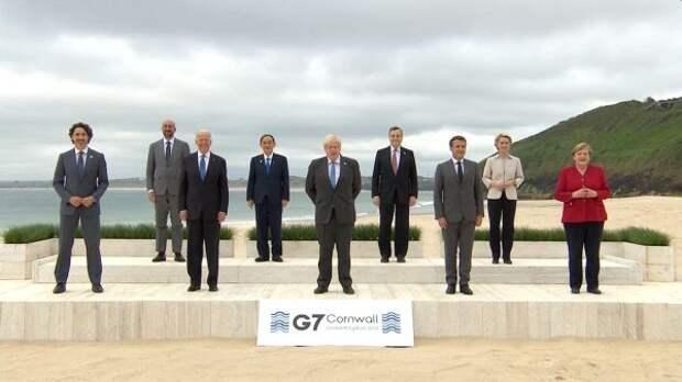 Страны G7 назвали Россию «дестабилизирующей излонамеренной»