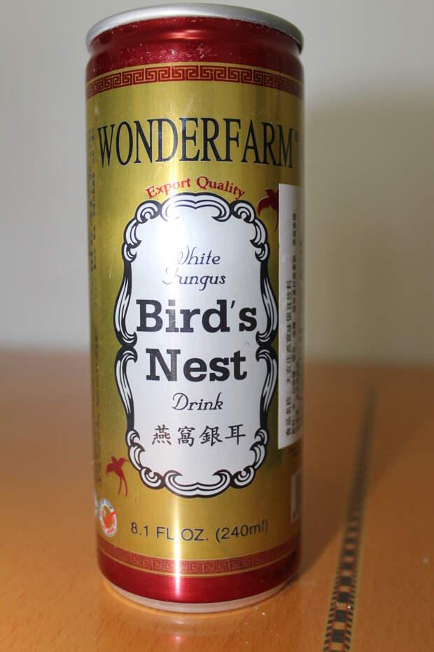 White Fungus Bird's Nest от Wonderfarm  еда, жесть, факты
