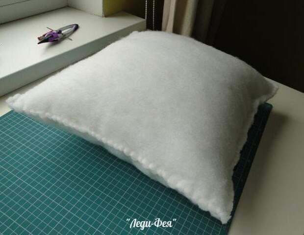Идеальная подушка своими руками 3