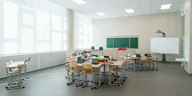 Собянин: В этом году Москве построят около 40 корпусов школ и детсадов Фото: mos.ru