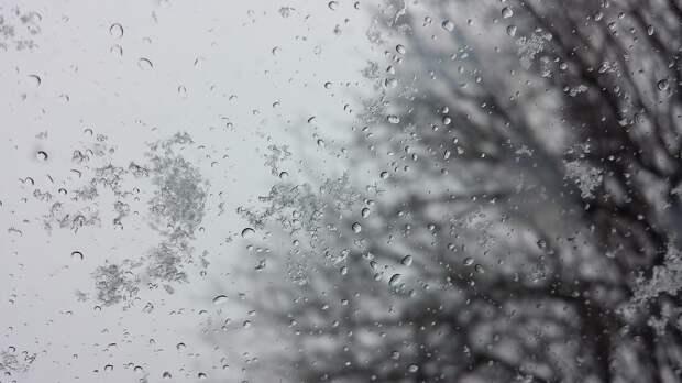 Дождь со снегом пройдут местами в Удмуртии в среду