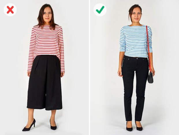 7 ошибок в выборе одежды, которые мешают нам выглядеть стройнее
