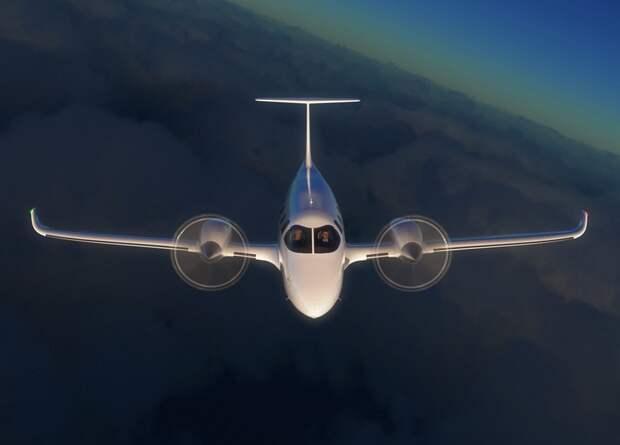 Американцы построят восьмиместный электрический самолет