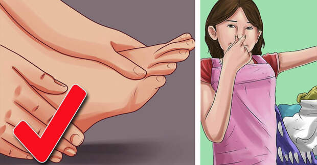 Профилактика и лечение неприятного запаха ног
