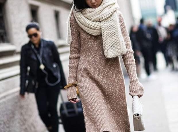 Как носить платье зимой, чтобы не замерзнуть?