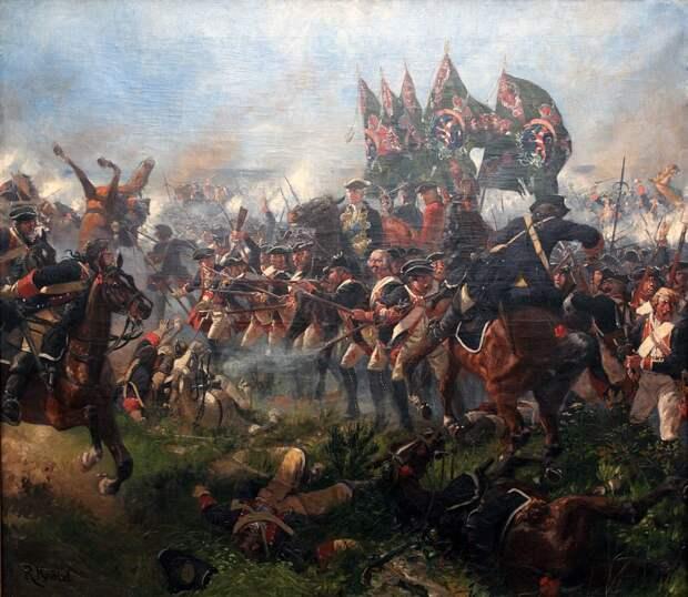 28 сентября 1760 года русские войска заняли Берлин