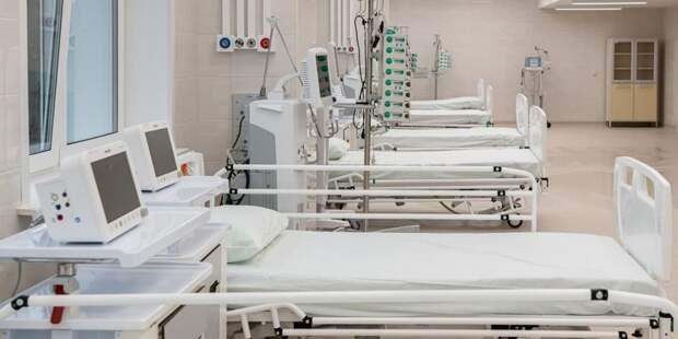 Собянин рассказал о ходе строительства II очереди больницы в Коммунарке. Фото: М. Мишин mos.ru