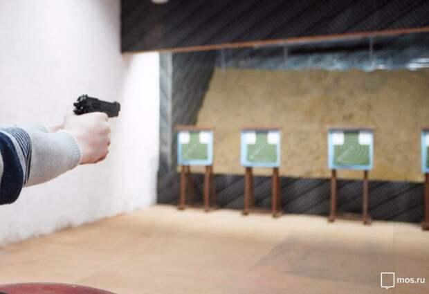 Лучшим стрелком в САО стала старший лейтенант из Молжаниновского