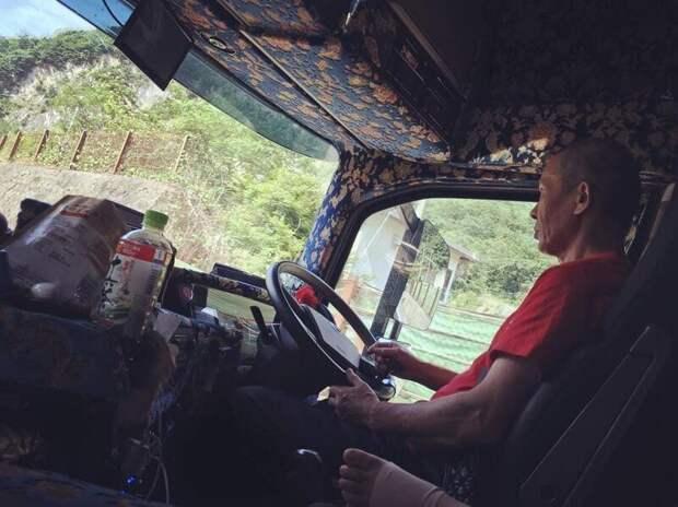 По дорогам Японии колесит самый красивый дальнобойщик