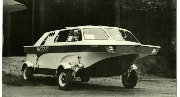 Морпех, Ихтиандр и Тритон — самодельные автомобили-амфибии в СССР