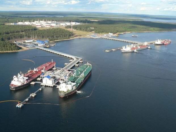 Нефтеналивной порт Приморск