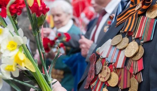 Собянин поздравил ветеранов войны и москвичей с праздником Победы