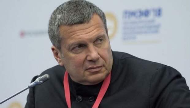 «Крым вам не понравился, а куда ГДР дели?»: Соловьев преподал американскому политологу урок в прямом эфире