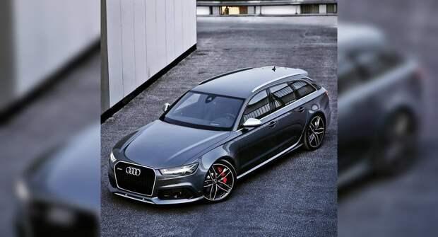 Audi RS6 Avant — практичная агрессия, покоряющая город
