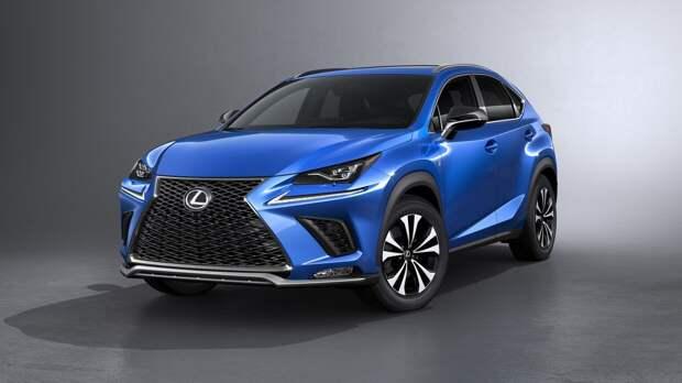 Lexus представит обновленный кроссовер NX в России 12 июня
