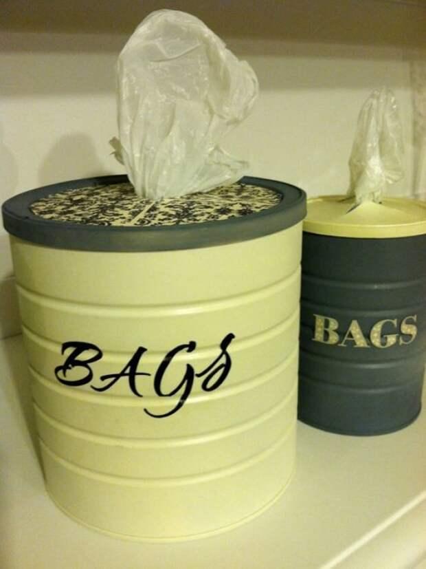 15 нужных идей для тех, у кого есть пакет с пакетами